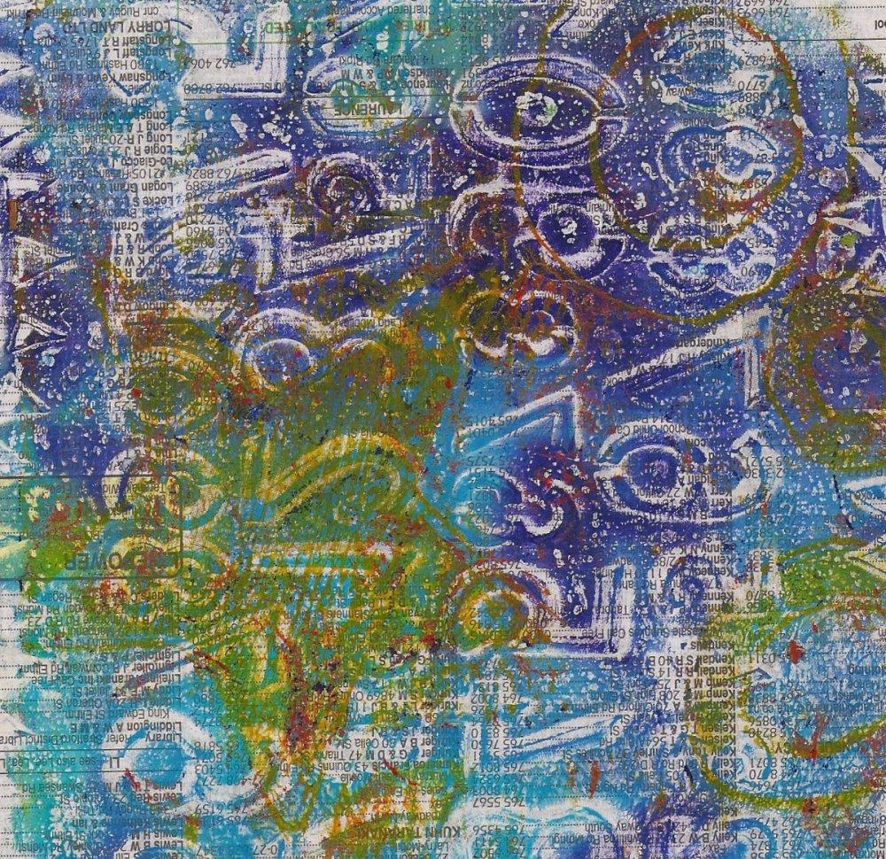 Gelli prints (2/6)