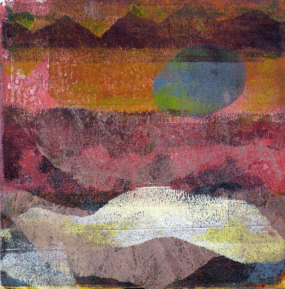 Gelli plate landscapes (5/5)