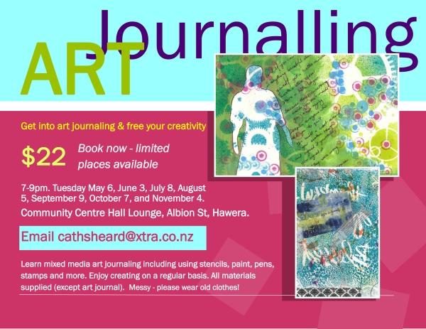 art journalling class