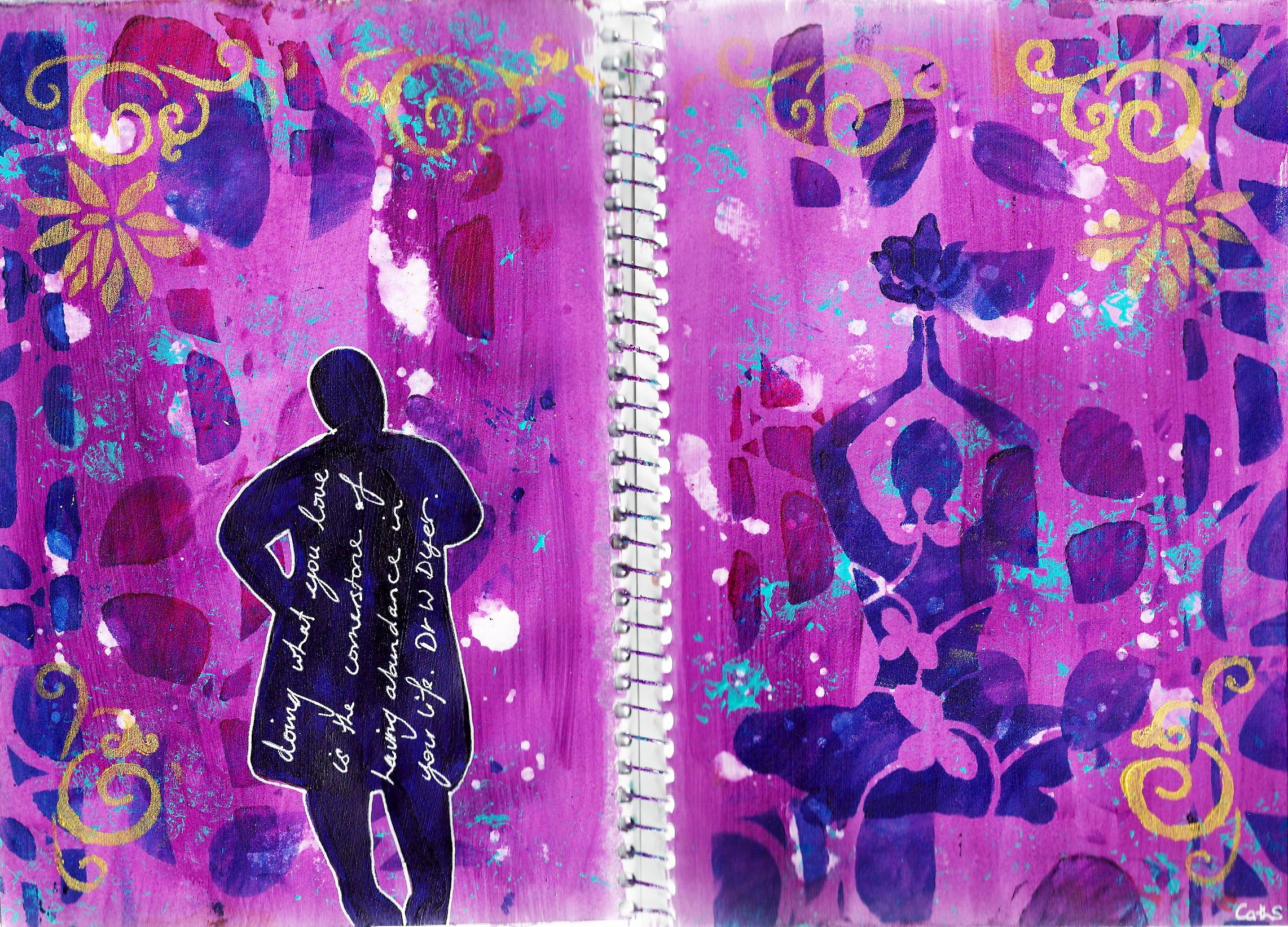 abundance journal page