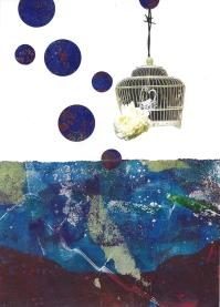 birds in space