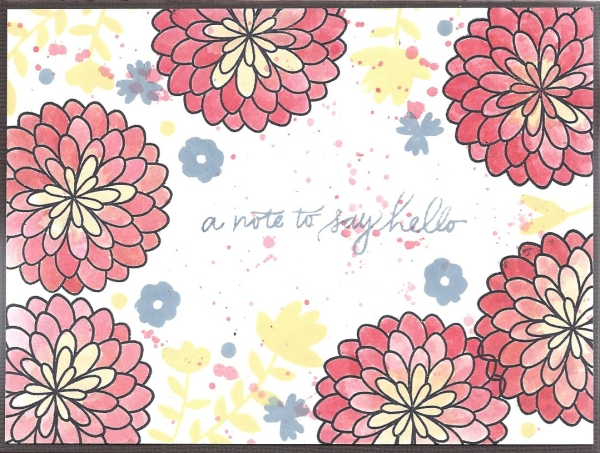 a note to say hello 1