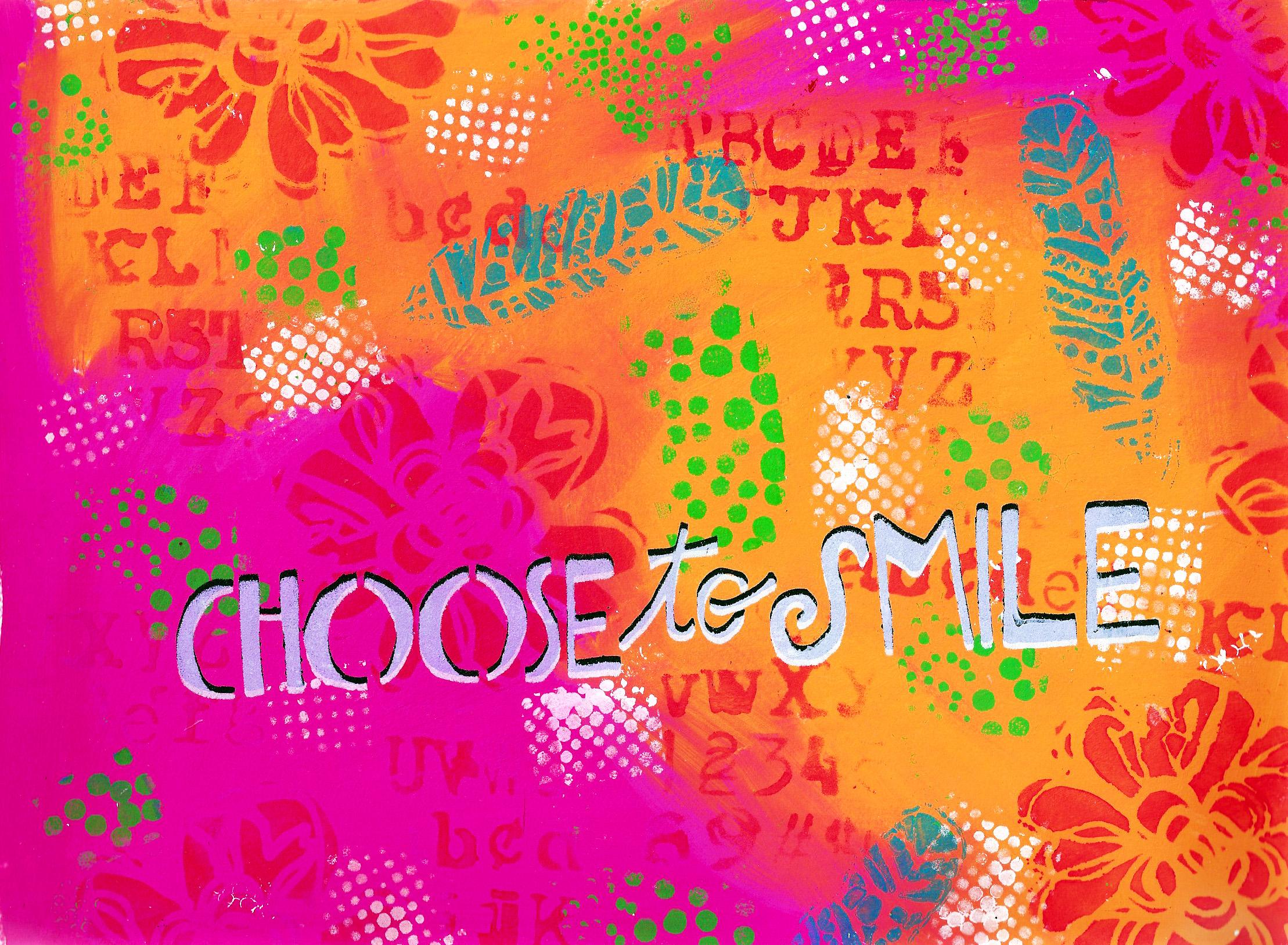 choose to smile