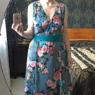 a flip dress